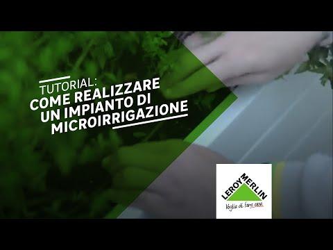 Come Installare Un Impianto Di Microirrigazione In 5 Step Leroy