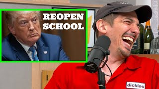 Schulz Reacts to Reopening Schools | Charlamagne Tha God and Andrew Schulz