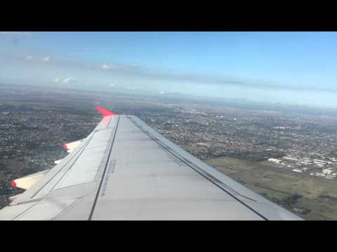 Taking off from Ezeiza Argentina International Airport Avianca Airbus A321