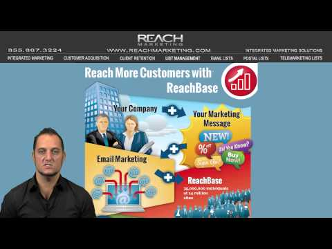 ReachBase Business Postal And Email List