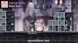 Ayumilove MapleStory Pink Bean Skill Preview Video 1st, 2nd, 3rd, 4th Job All Skills