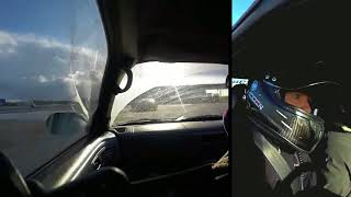 Ran a rear facing GoPro as well as my usual forward facing one from...