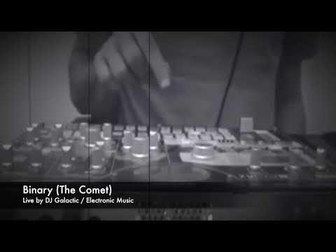 DJ Galactic - Binary live on Korg EMX1  (The Comet 2018)