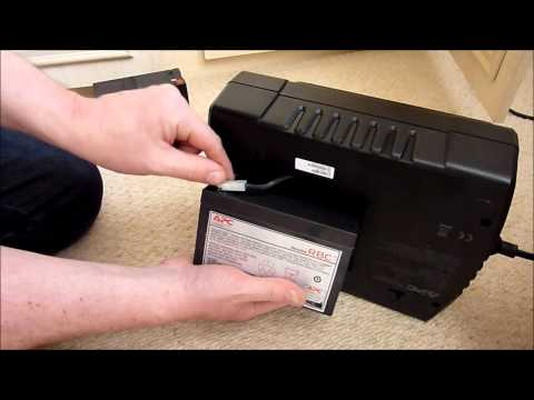 How To Change An APC Backup ES700 UPS Battery