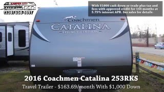 2016 Forest River Inc. Coachmen Catalina 253RKS