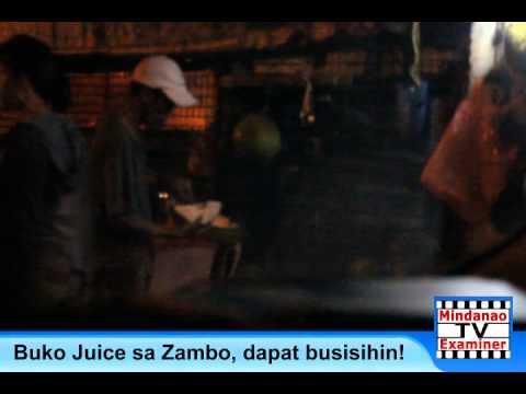 Mindanao Examiner TV: Buko juice sa Zambo, dapat busisiin!