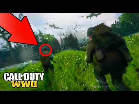YOU ALL MISSED THESE Call of Duty: WWII EASTER EGGS! (*NEW*) HIDDEN CoD WW2 FEATURES YOU ALL MISSED!  