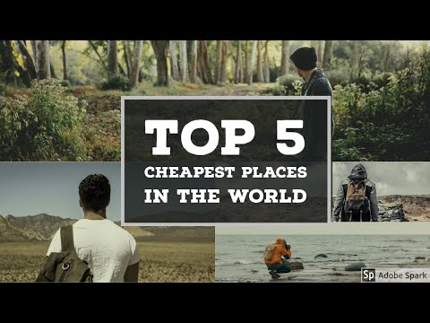 Top 5 - Cheapest Places to Travel - Trip planner - Travel Guide #Positive Thinking