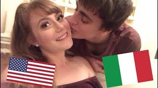 OUR CHRISTMAS IN ITALY (his gift made me cry lol)
