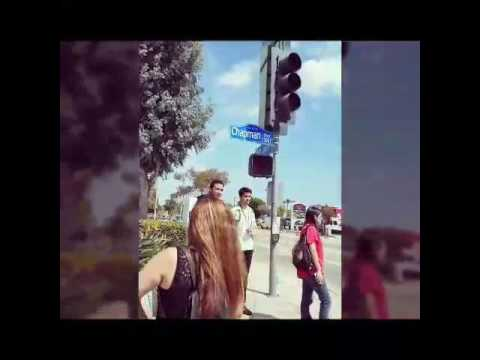 How the blind use the accessible pedestrian signal or audible to cross the street, Anna Garcya