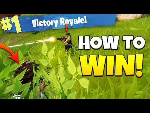 INVISIBLE TO ENEMIES?! How To WIN Every Game - Fortnite Battle Royale Tips & Tricks