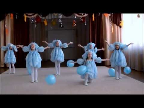 """Танец """"Капельки"""". Видео Юлии Буговой."""