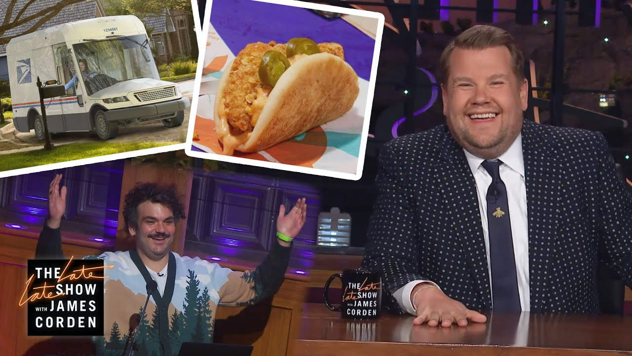 Ian is Back, Guillermo is Late, Trucks are Hot - Corden Catch-Up