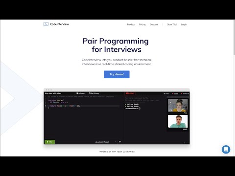 Code Interview Introduction