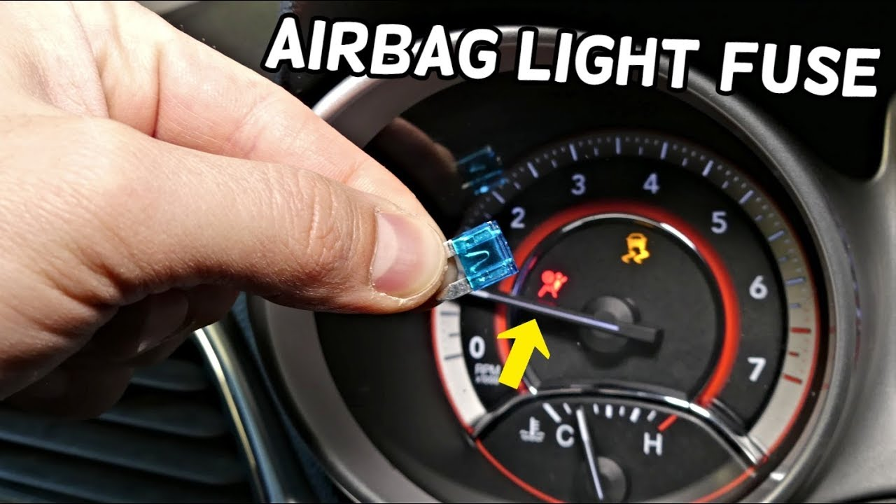 DODGE JOURNEY AIRBAG LIGHT FUSE LOCATION REPLACEMENT FIAT FREEMONT