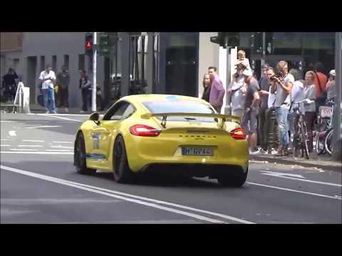 Cars & Coffee Koln Supercars Leaving / Giulia Quadrifoglio, F430, Cayman GT4, M3 , 991 GT3 RS