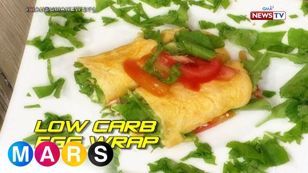 Mars: Low Carb Egg Wrap by Melbelline Caluag | Mars Masarap