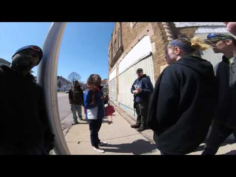 Group open carry walk on April 3rd 2016 Milwaukee,  WI