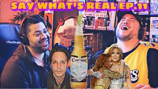 Say What's Real Ep.11- #JusticeforJohnnyDepp, SuperBowl Half Time Controversy, Corona Virus & MO