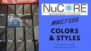 Nucore Waterproof Vinyl Flooring 23 MUST SEE COLORS ANALYZED & EVALUATED