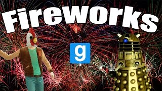 FIREWORKS BATTLE | Gmod | Fun With Dangerous Fireworks!!!