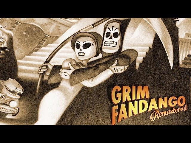 Grim Fandango Remastered (видео)