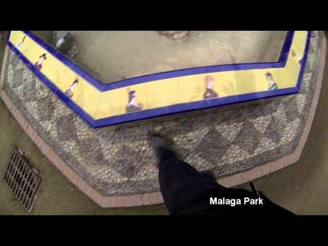 Malaga park Spain, What to see in malaga,