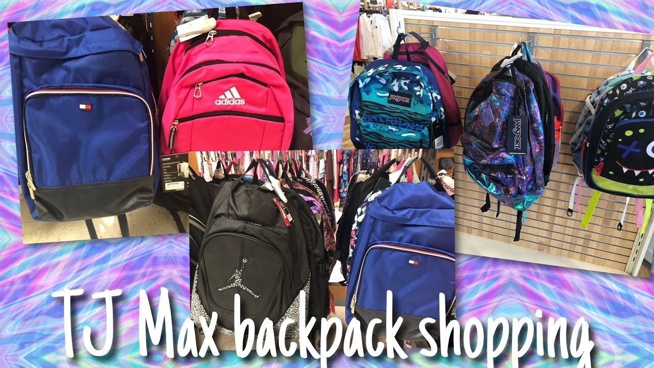 1060eeca42 BACK TO SCHOOL BACKPACK 🎒 SHOPPING AT TJ MAX - YouTube