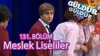 Güldür Güldür Show 131. Bölüm, Meslek Liseliler Skeci