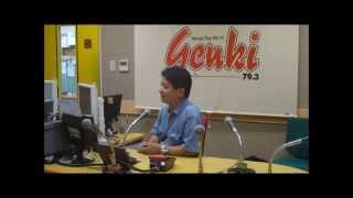 """きいちろ♪故郷姫路のFM""""genki""""79.3MHz出演(2013.8.31)"""