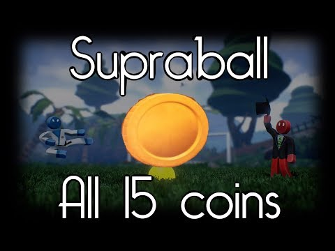 Supraball All 15 coins in Tutorial