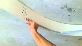 видео Монтаж двухуровневых потолков из гипсокартона: этапы