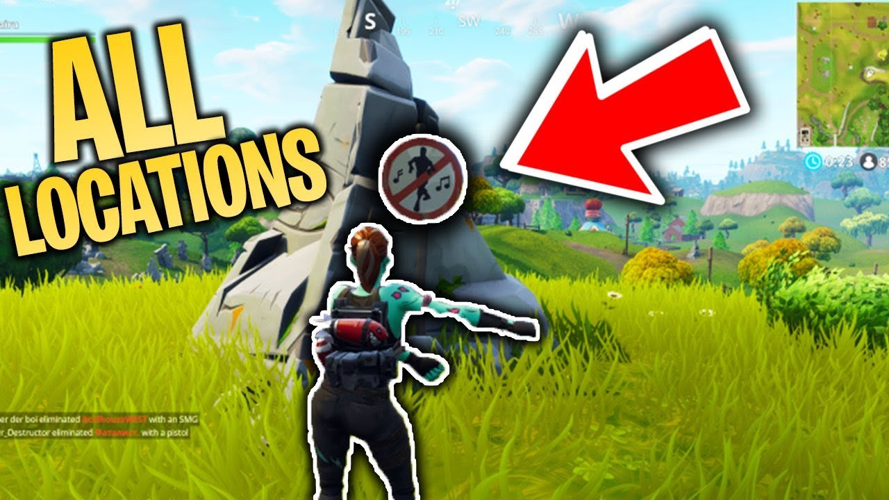 New Fortnite All Dance In Forbidden Locations Battle Pass