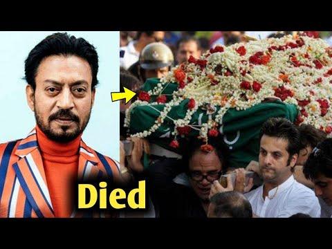 Irrfan Khan Dies At 54 In Mumbai