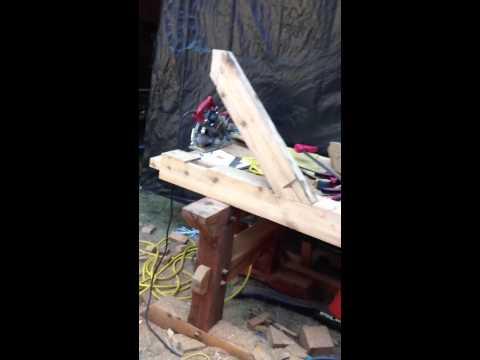 Making a knee brace