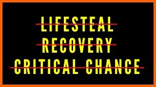 Life Steal - Recovery - Critical Chance - Regen All GONE In Neverwinter Mod 16 BUT...