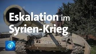 Eskalation im Syrien-Krieg droht - Türkei ruft NATO an und will Grenze zur EU öffnen