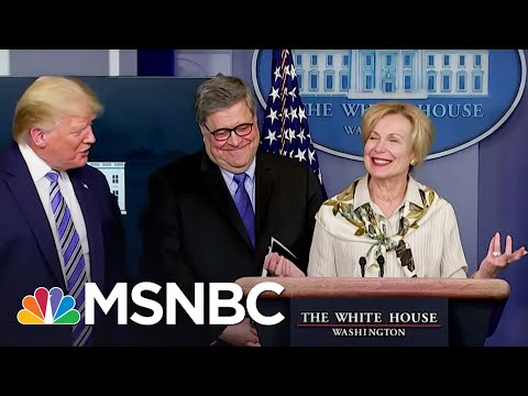 Trump Jokingly Walks Away As Doctor Birx Says She Had Fever Over Weekend | The Beat with Ari | MSNBC