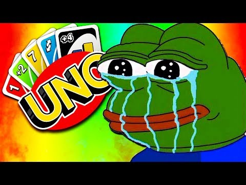HE SAID GG TOO SOON?! - UNO with The Crew!