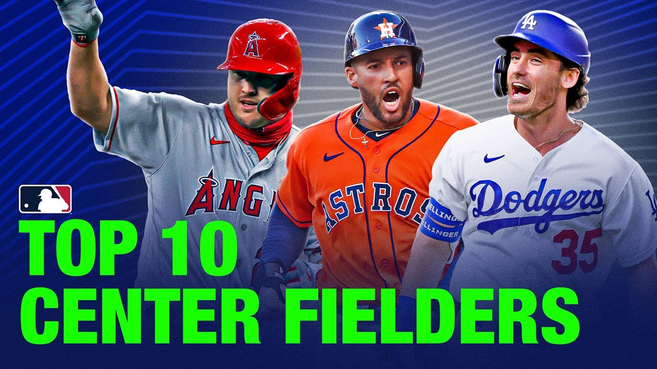 Top 10 Center Fielders in MLB | 2021 Top Players