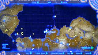 BotW#032a - Map of Hestu&#39s 3 Locations To Expand Available Inventory