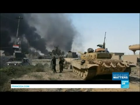 Iraq: Mosul battle against Islamic State group looms as US, France and Kurdish militias gather troop