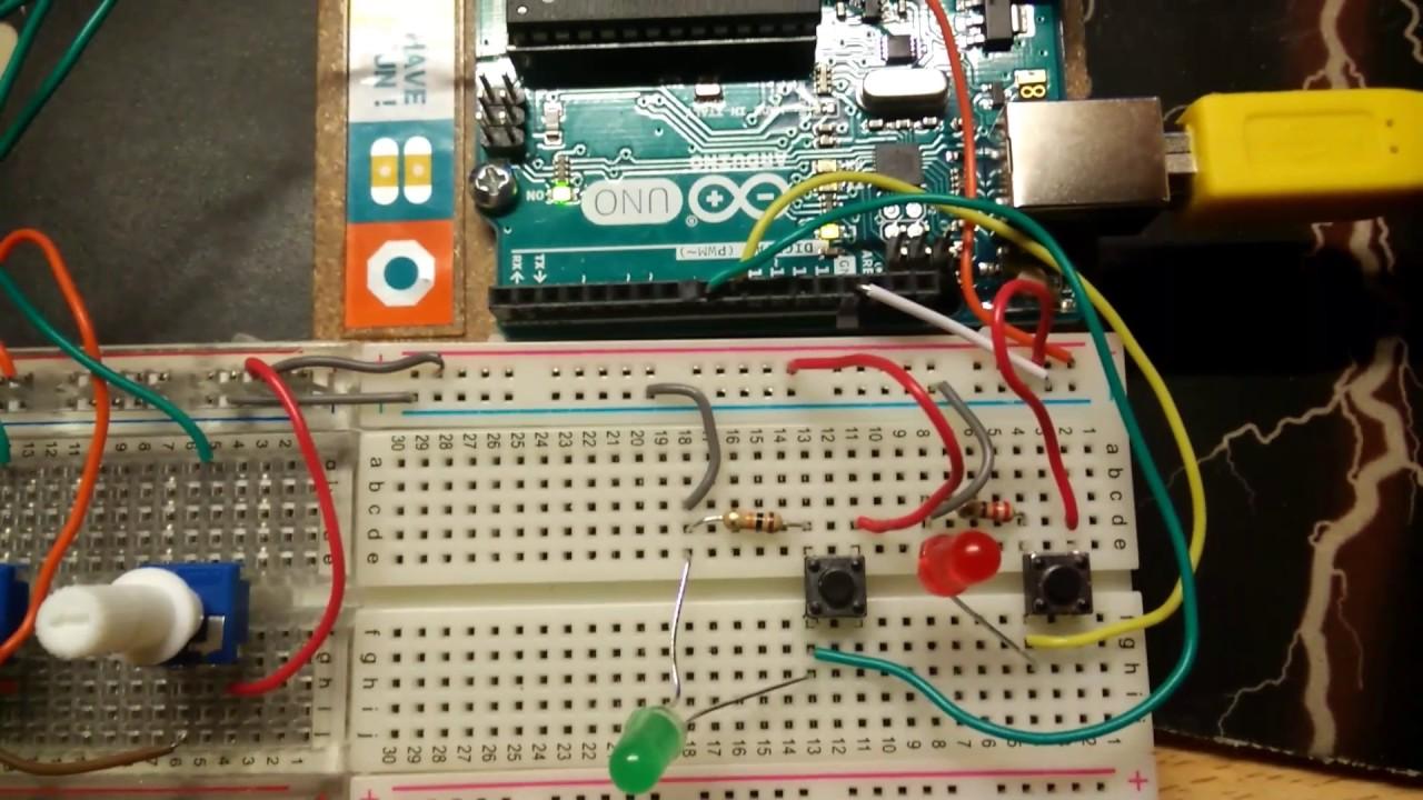 Simple Arduino midi controller over serial /w resolume [DEMO]