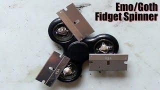Emo/Goth Fidget Spinner (TUTORIAL)