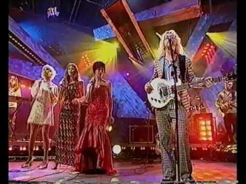 Kylie Minogue, Natalia Imbruglia, Sinead O'Connor, David Stewart - Medley (TFI Friday 1998)