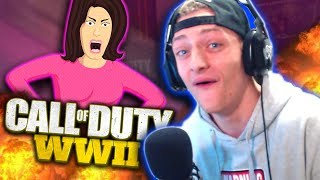 mom vs child voice impression on cod ww2 hilarious reactions