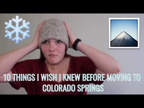 10 THINGS I WISH I KNEW BEFORE MOVING TO COLORADO SPRINGS (2