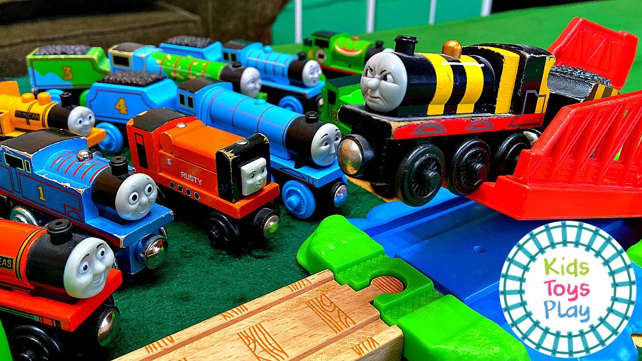 Learn Numbers with Thomas and Friends Jumping Races