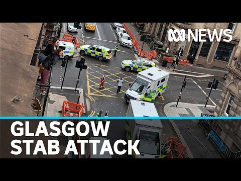 Six treated for injuries after multiple stabbings in Glasgow hotel | ABC News – ABC News (Australia)