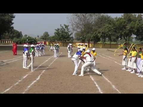 Mchs dharoor Jagtial Sprots meet dance